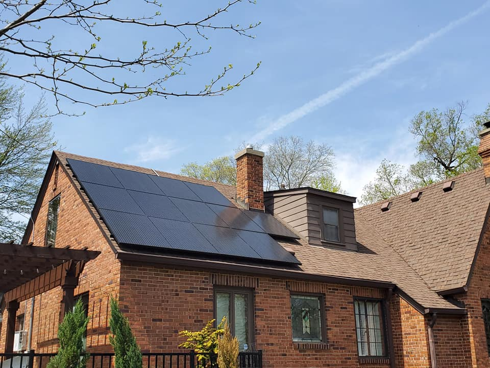 What is the best roof spot for solar?