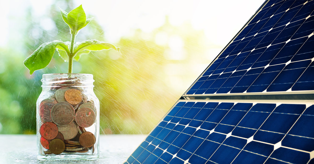 What is the typical ROI for solar panels?
